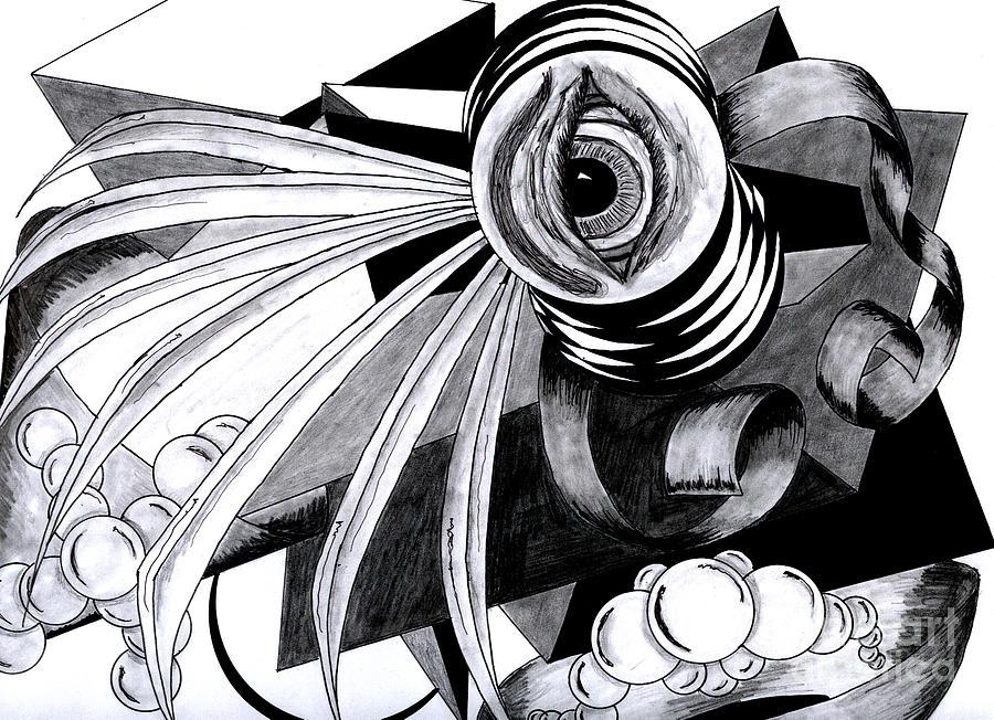 Surrealist Drawing - Wisdom by Bryan Gilligan
