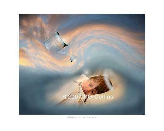 Girl Photograph - Wisdom Of The Heavens by Scott Collins