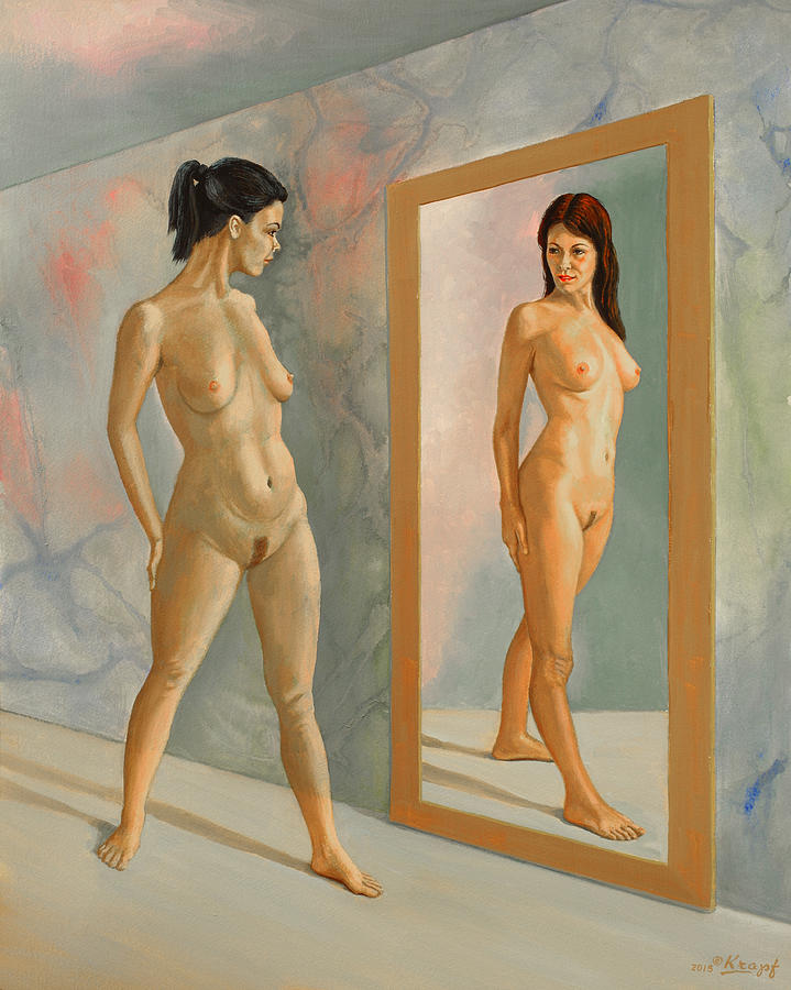 Figure Painting - Wishful Thinking by Paul Krapf