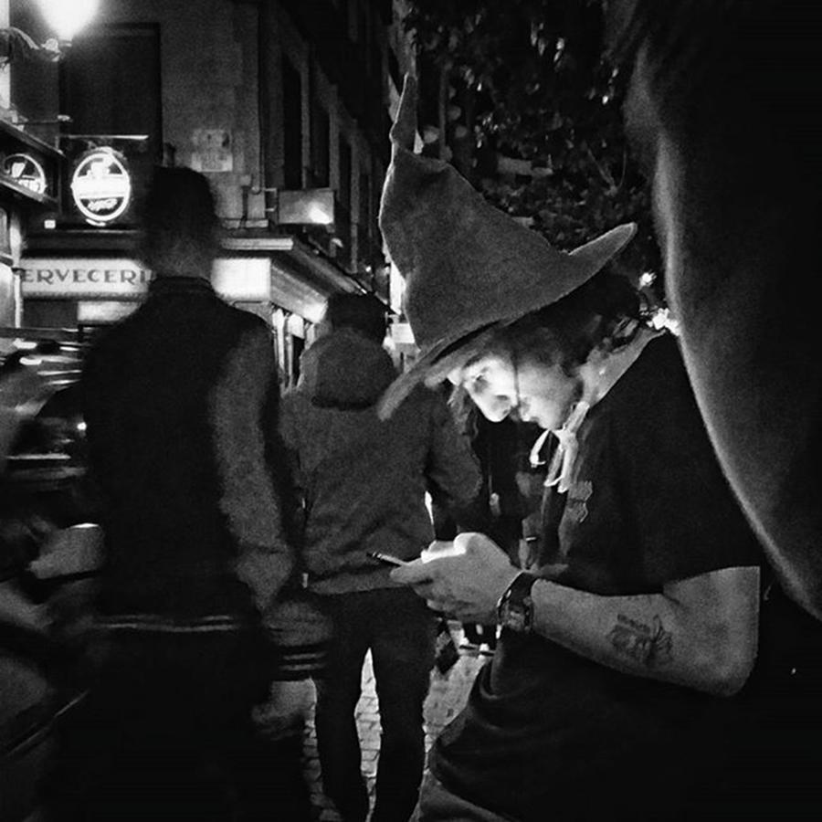 Madrid Photograph - Witchapp  #halloween #witch #people by Rafa Rivas