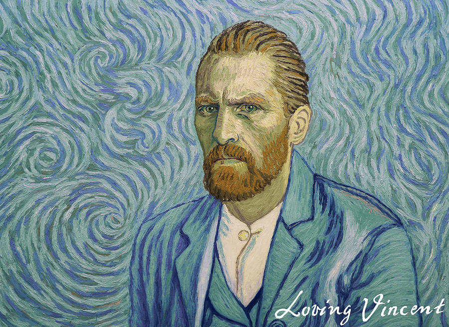 With a handshake - Your Loving Vincent Painting by Anna Kluza