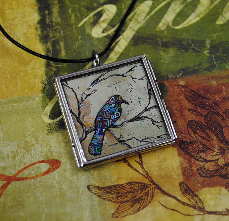 Pendant Painting - With In by Dana Marie