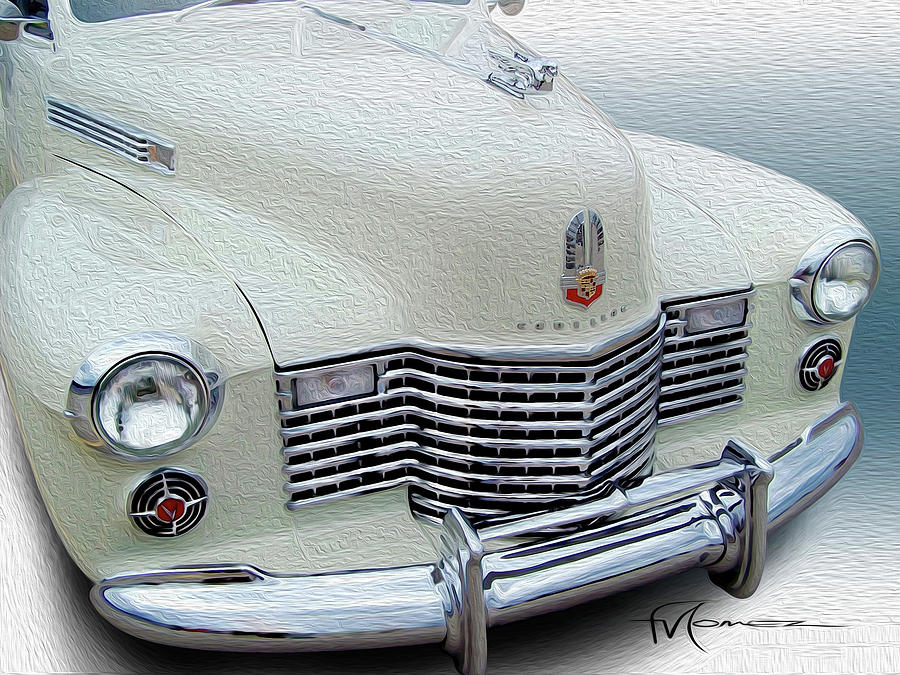 Cadillac Photograph - With Style by Felipe Gomez
