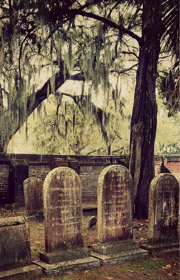 Cemetery Photograph - Within by Sanctuary of Words Gallery