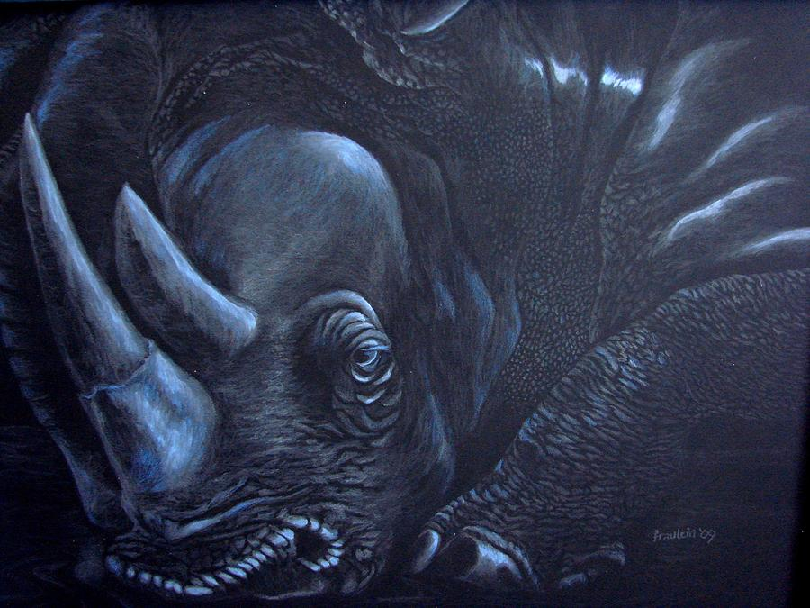 Wildlife Painting - Without You by Glory Fraulein Wolfe
