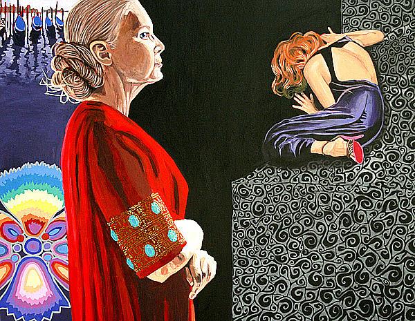 Witness No 28 Painting by Sara Jaskiewicz