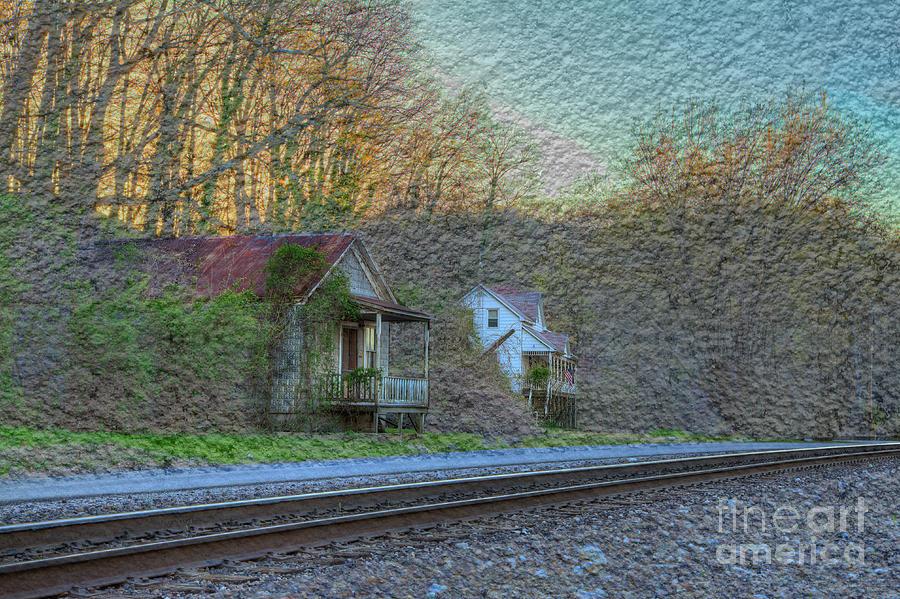 Hdr Digital Art - Wittenberg Missouri by Larry Braun