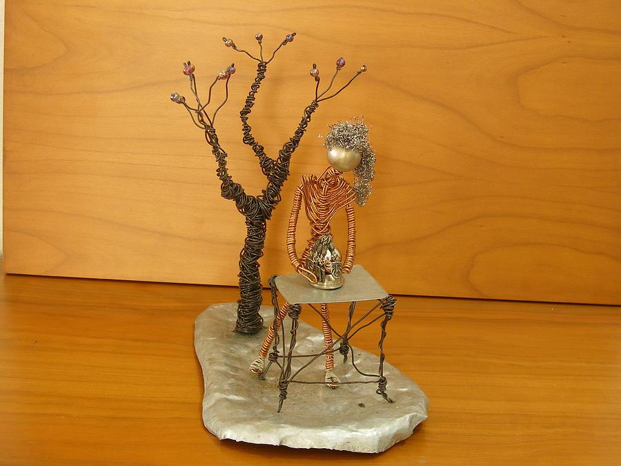 Wizard Sculpture by Gezer Coskun