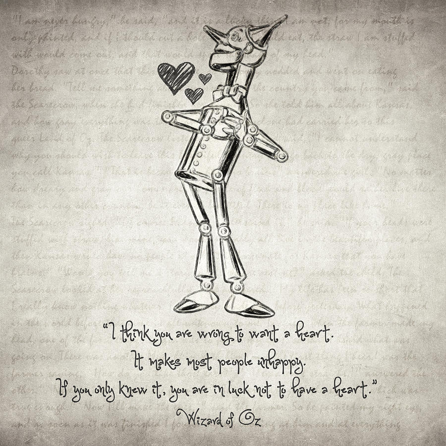 Wizard of oz quotes - The Wonderful Wizard Of Oz Drawing Wizard Of Oz Quote By Taylan Apukovska