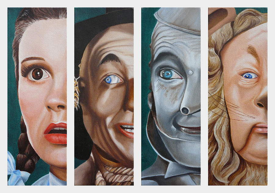 Wizard of Oz Set One by Vic Ritchey