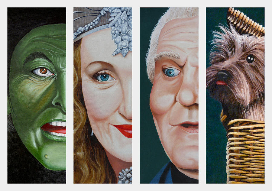 Wizard of Oz Set Two by Vic Ritchey