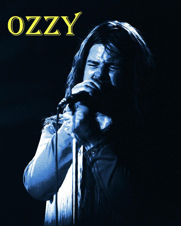 Black Sabbath Photograph - Wizardozzy by Ben Upham