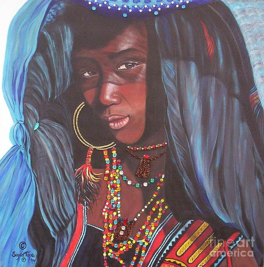 Virtuous Wodaabe Girl          from The Attitude Girls  by Sigrid Tune