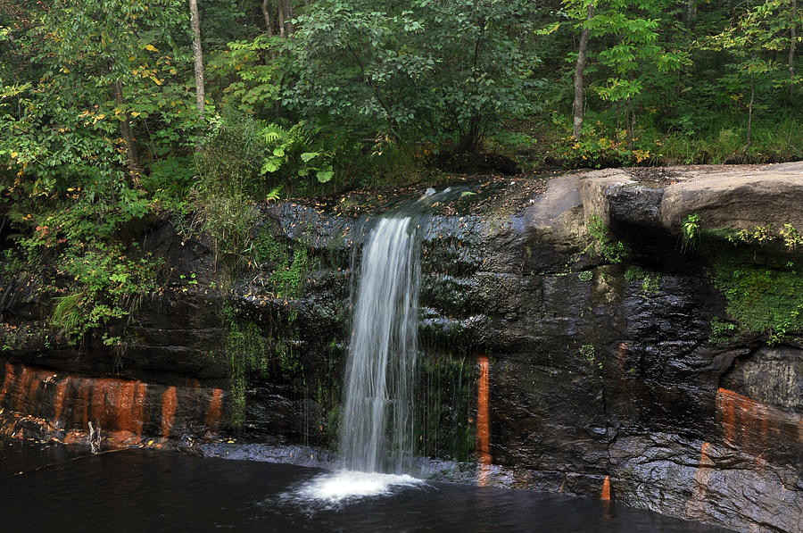 Waterfall Photograph - Wolf Creek Falls by John Ricker