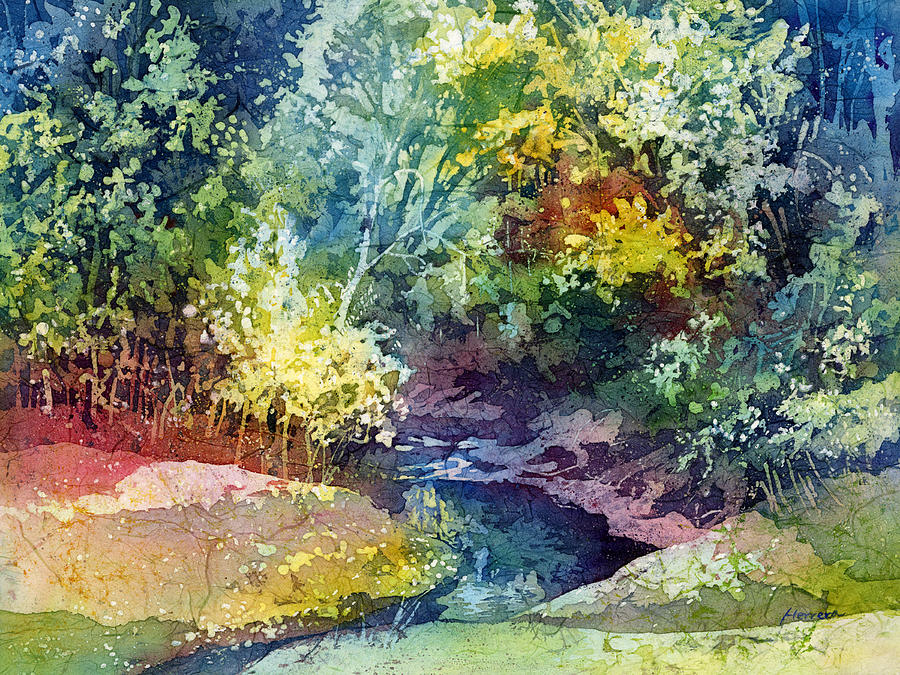 Wolf Pen Creek Painting