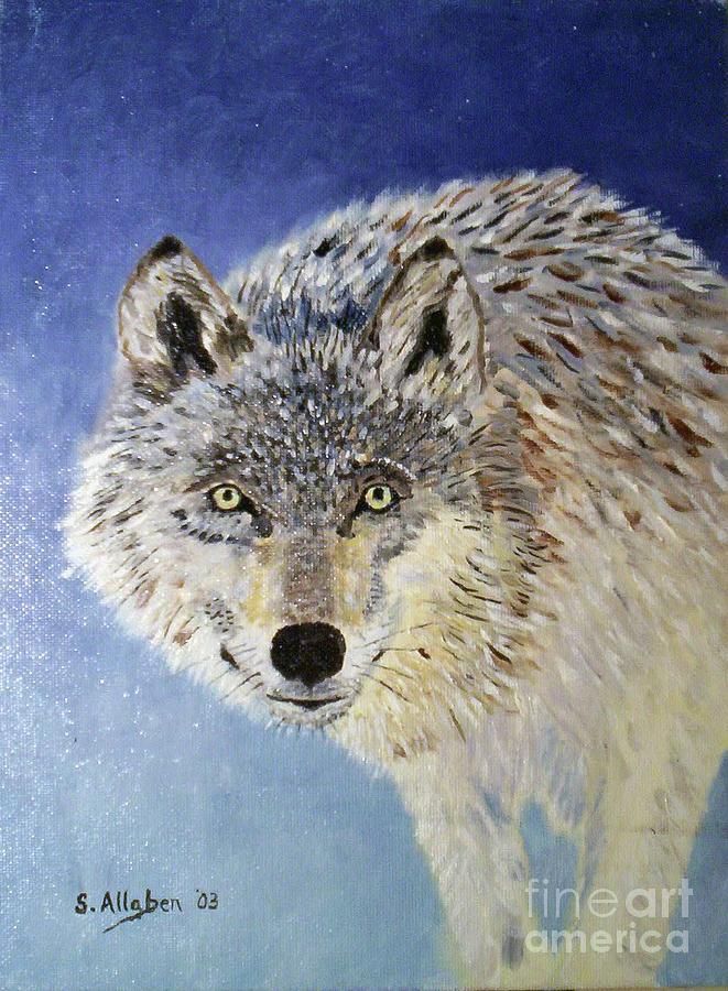 Wolf Study by Stanton Allaben