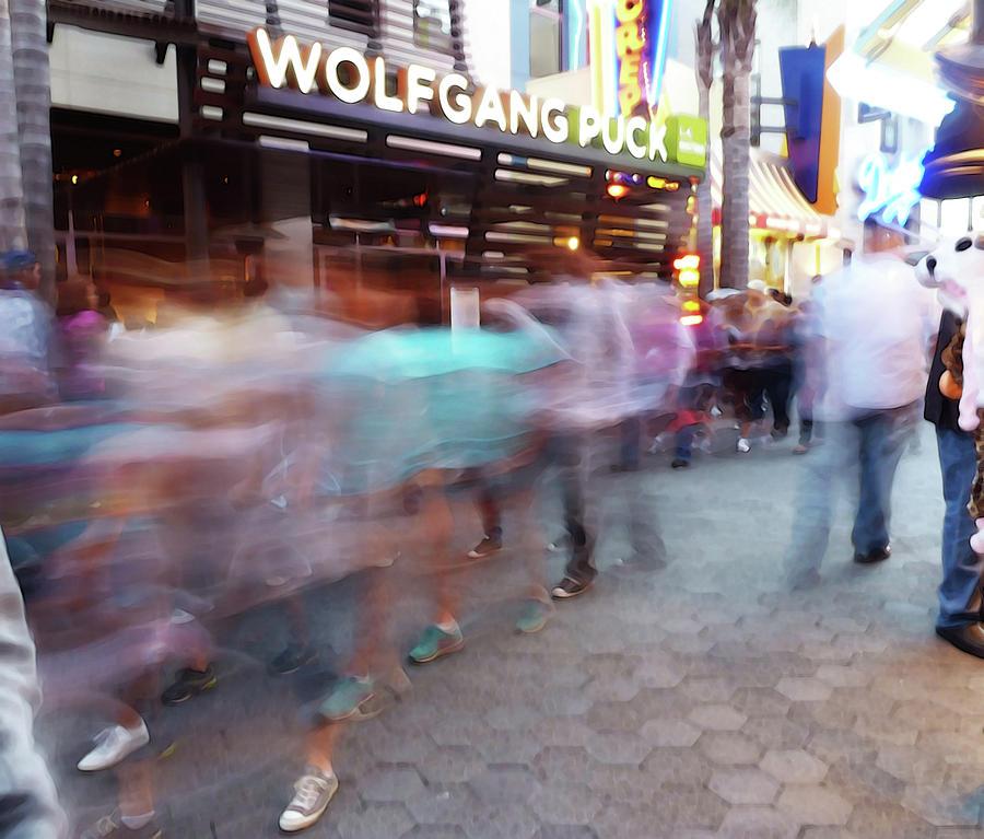 Street Scene Photograph - Wolfgang Puck by David BERNARD