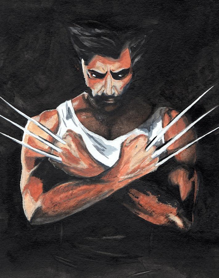 Wolverine Painting - Wolverine by Pet Serrano