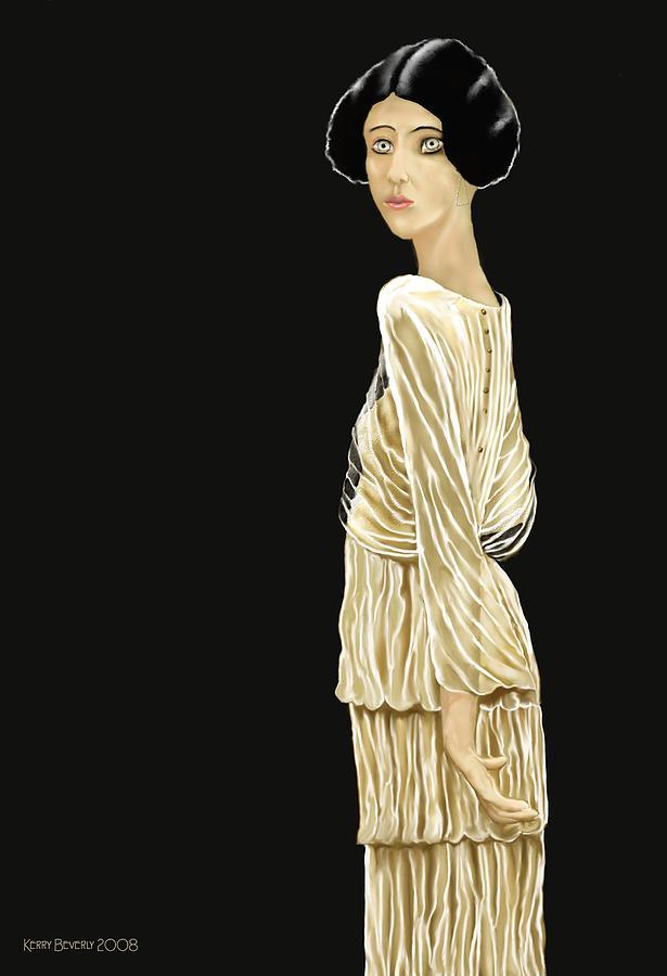 Woman Digital Art - Woman 36 by Kerry Beverly