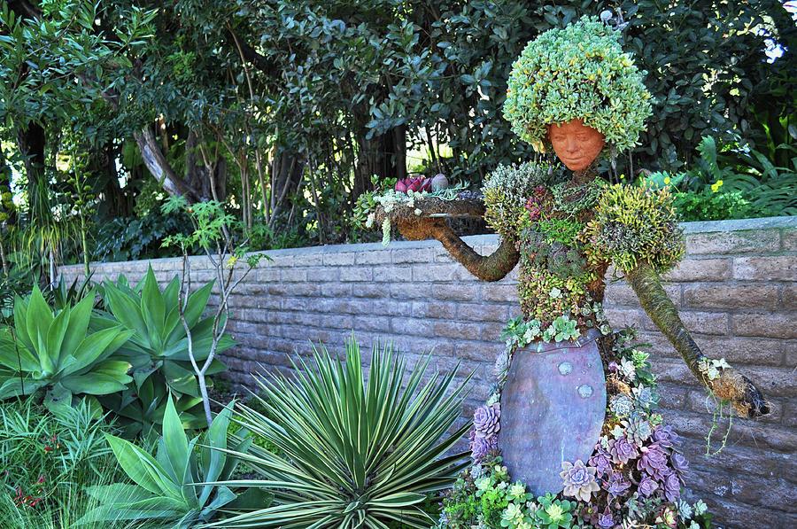 Woman Botanical Sculpture Photograph By Kyle Hanson
