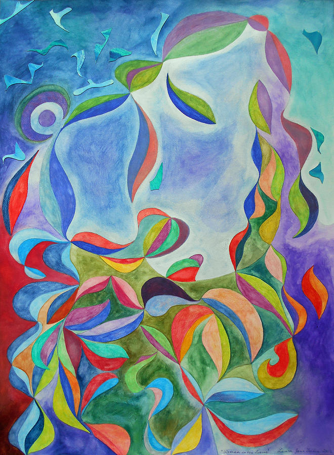 Woman in the Leaves by Laura Joan Levine