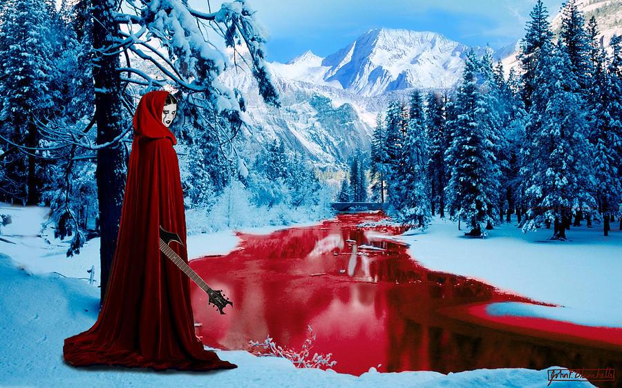 Elizabeth Bathory Digital Art - Woman Of Dark Desires by John Paul Blanchette