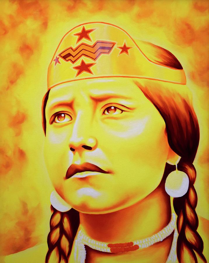 Chief Painting - Woman of Wonders by Robert Martinez