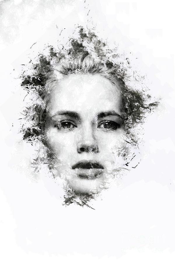 Woman Portrait Digital Art