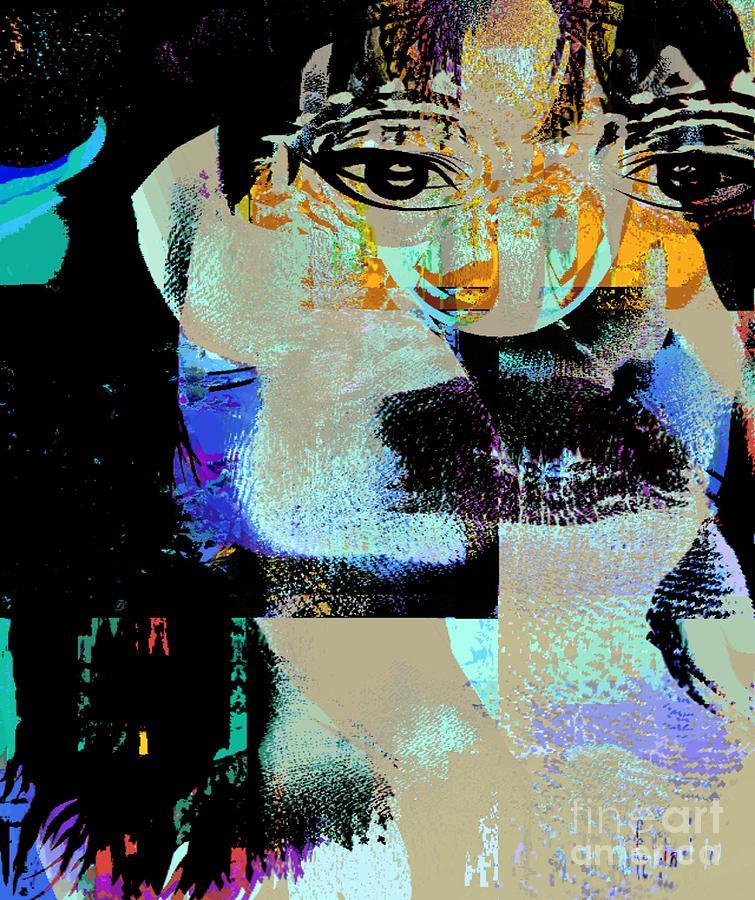 Fania Simon Mixed Media - Womanhood Not For Sale by Fania Simon