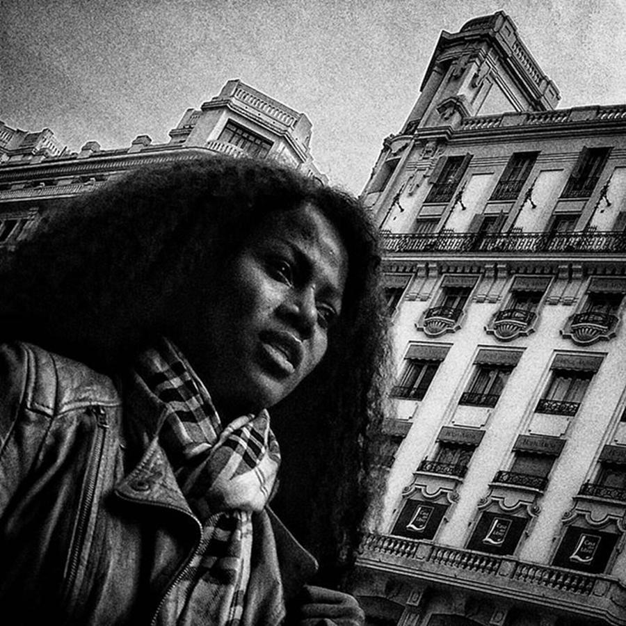 City Photograph - Woman  #woman #portrait #instapeople by Rafa Rivas