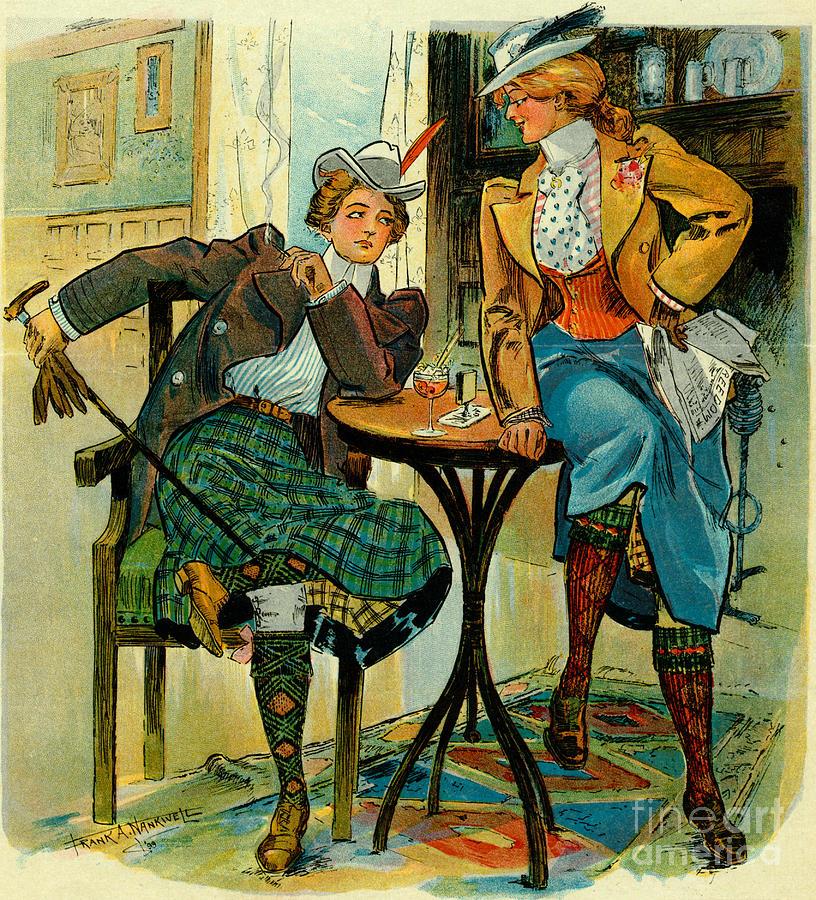 Blue Photograph - Womans Club 1899 by Padre Art