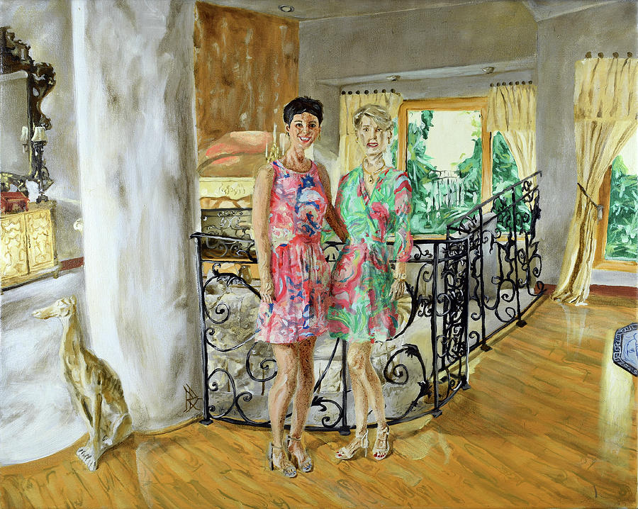 Women In Sunroom by Ryan Demaree