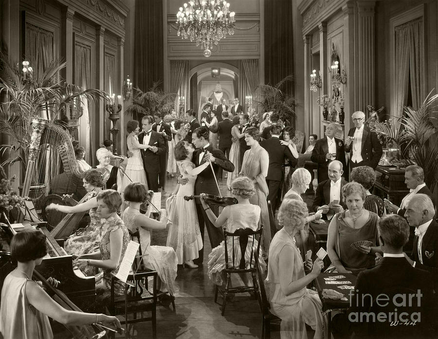 Lost Hollywood Photograph - Women They Talk About 1928 by Sad Hill - Bizarre Los Angeles Archive