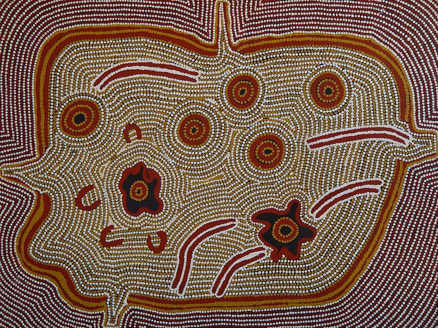 Aborigine Painting - Womens Dreaming by Marlene Spencer Nampitjinpa