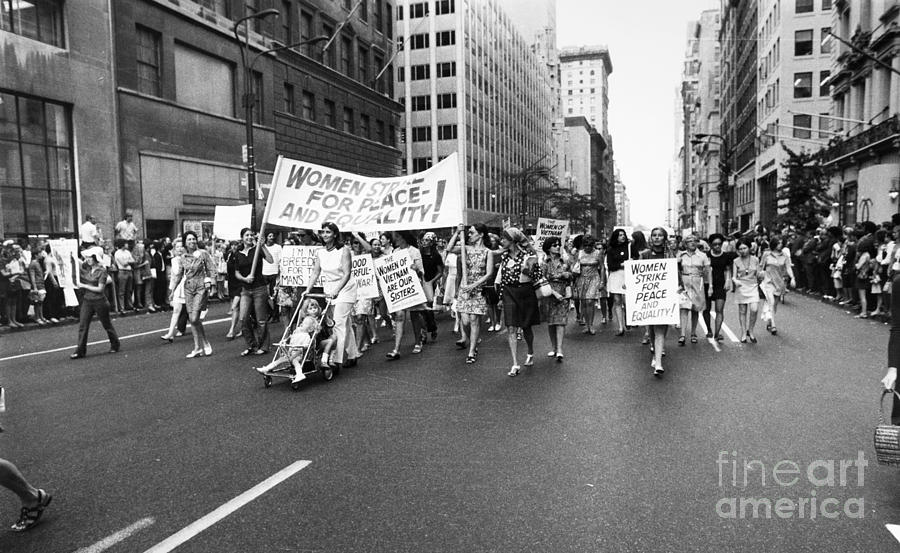 1970 Photograph - Womens Rights, 1970 by Granger