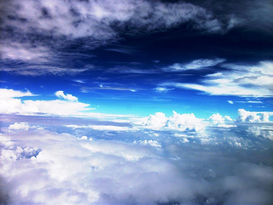 Clouds Photograph - Wonder Of Cloudz by Piety Dsilva