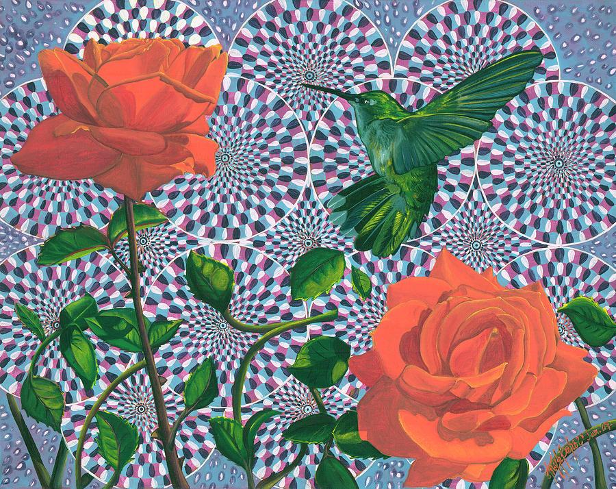 Illusion Painting - Wonder by Vera Tour
