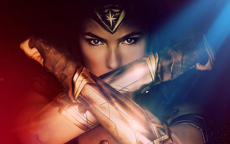 Wonder Woman Movie Poster 2017 Digital Art By Geek N Rock