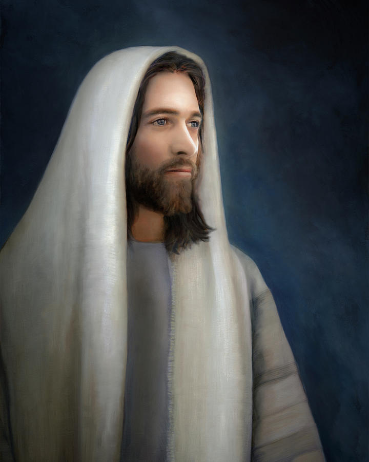 Jesus Painting - Wonderful Counselor by Brent Borup