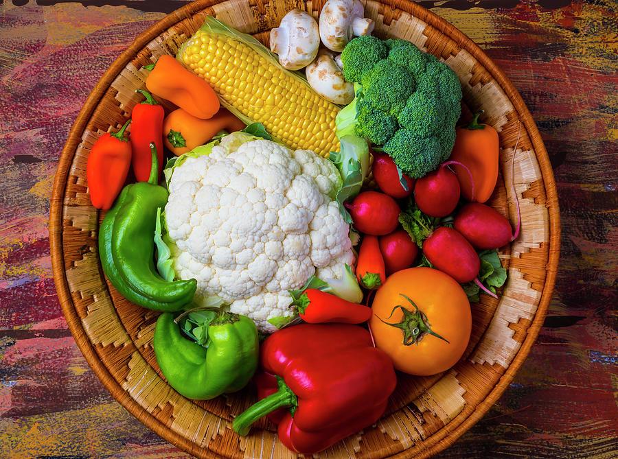 Vegetable Photograph - Wonderful Fresh Vegetables by Garry Gay