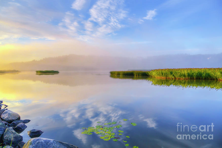 Atmosphere Photograph - Wonderful Morning IIi by Veikko Suikkanen