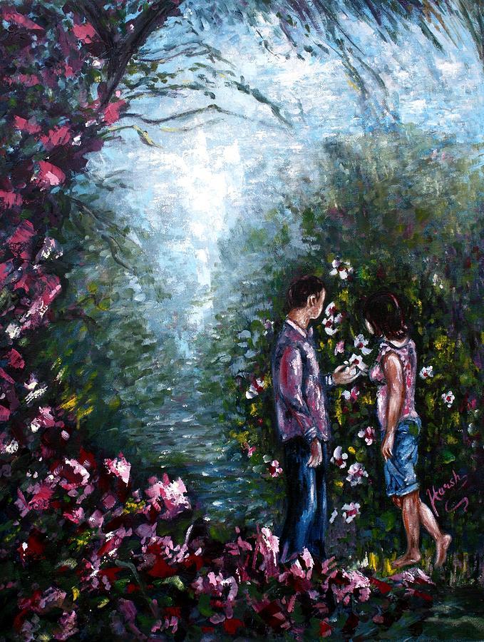 Wonderland Painting - Wonderland by Harsh Malik