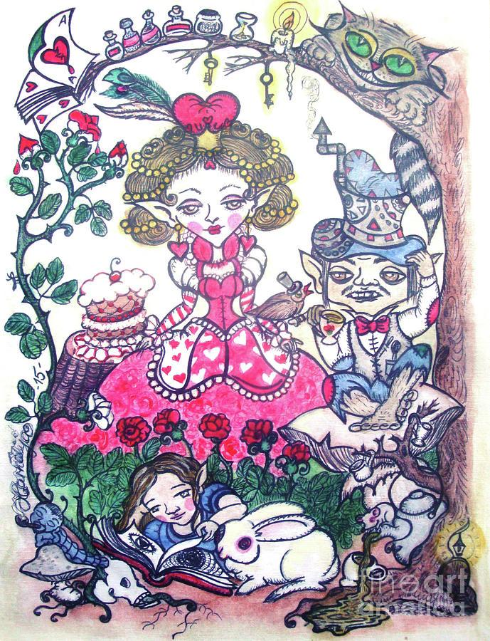 Wonderland Painting by Koral Garcia