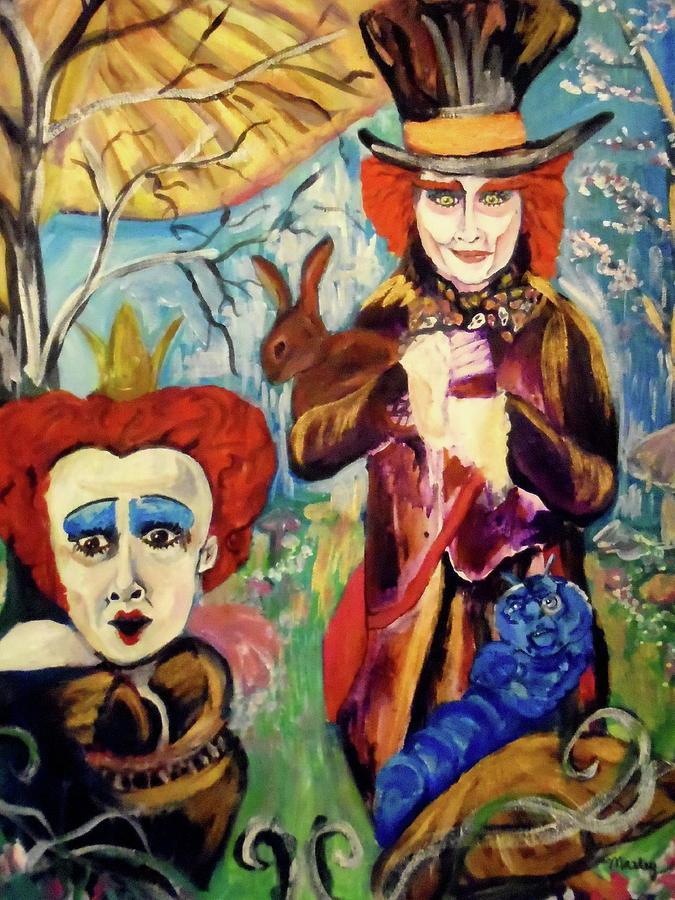 Wonderland Painting - Wonderland by Made by Marley