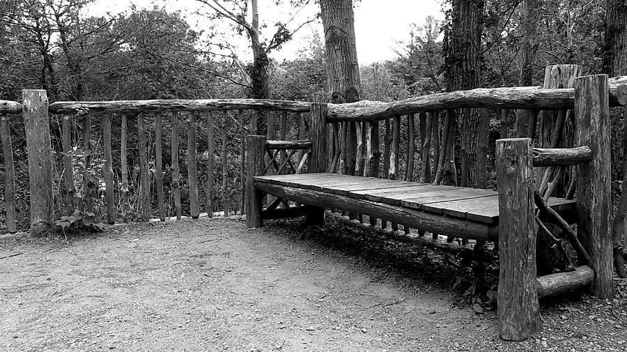 Wood Bench by TJ Scar