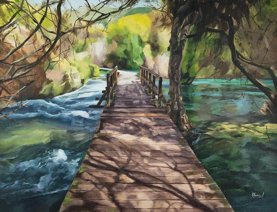 Wooden Bridge by Maria Arnaudova
