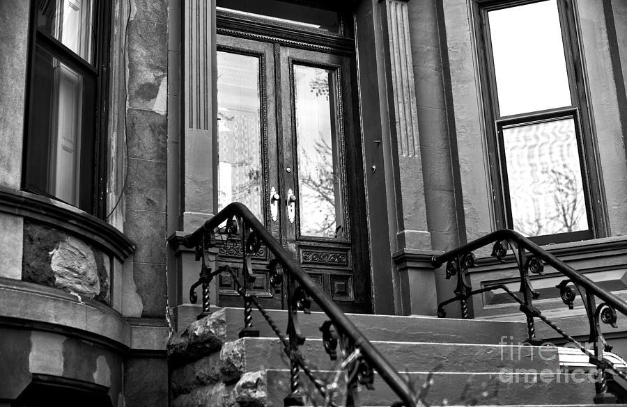 Wood Door Photograph - Wood Door In Park Slope by John Rizzuto