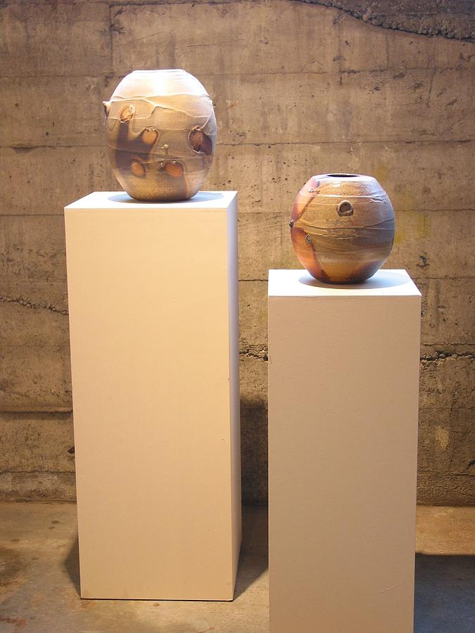 Wood-fired Ceramic Ceramic Art by Andy Lewis-Lechner