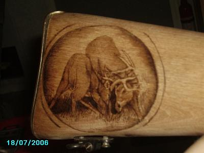 Woodburning Pyrographite Pyrography by Gremlin Icandrawanything