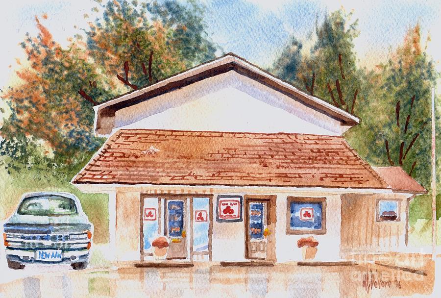 Woodcock Insurance in Watercolor  W406 by Kip DeVore